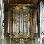 1646 Van Hagerbeer–1725 Schnitger at Laurenskerk, Alkmaar, The Netherlands
