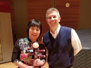 Gao Hong and Steve Staruch