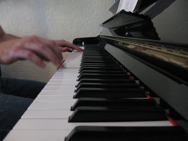 Matt Wilson on the keys