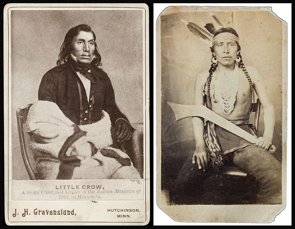 Two Dakota chiefs