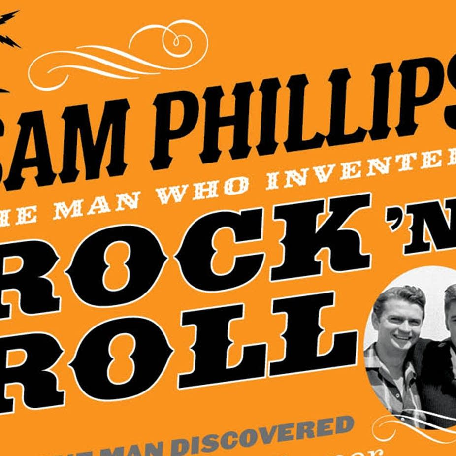 Detail of 'Sam Phillips' book cover