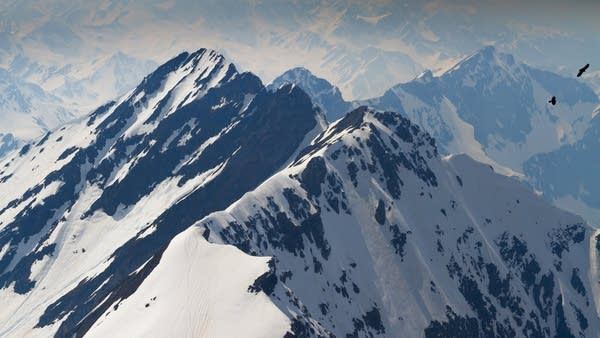 The Pyrenees mountains in southern France