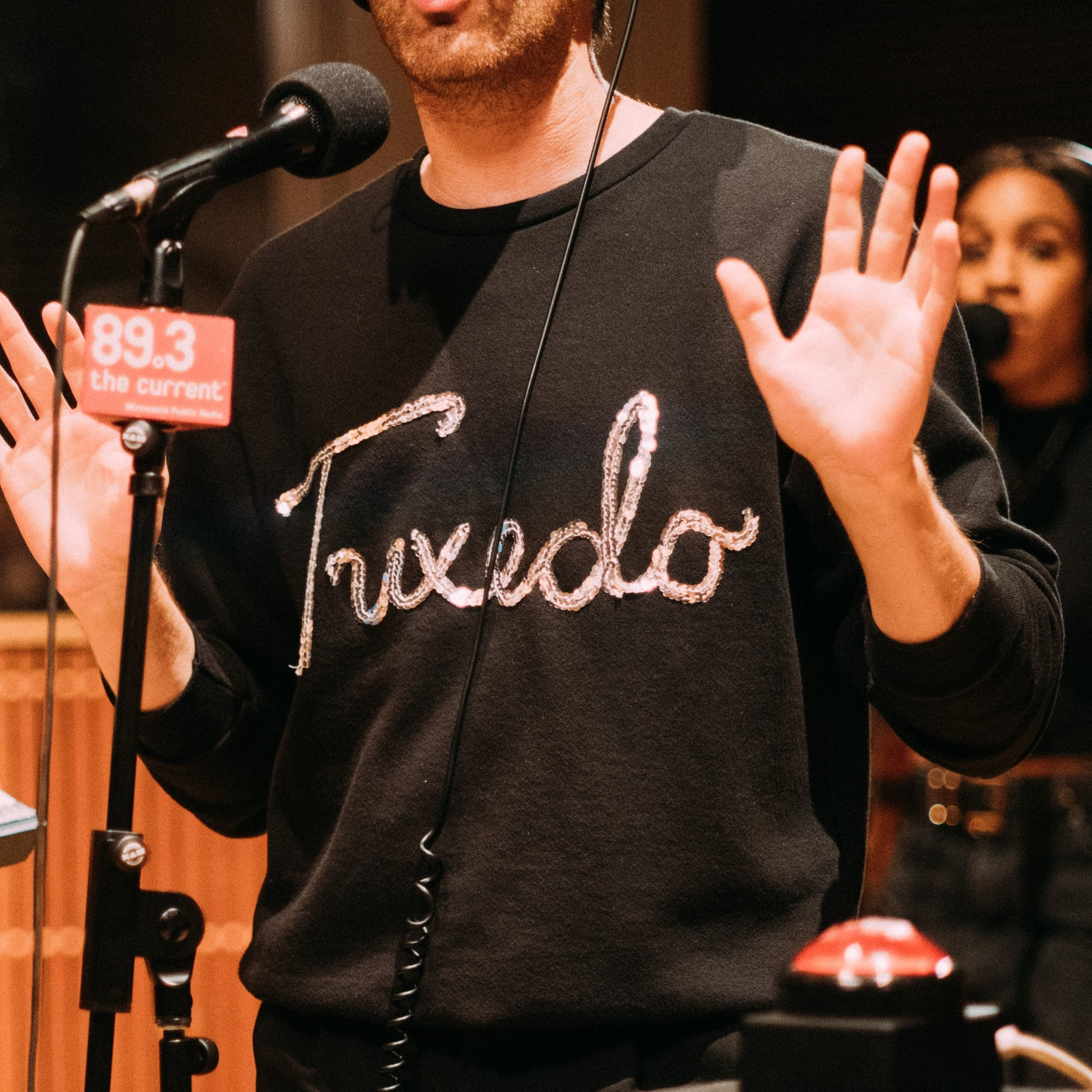 Tuxedo perform in The Current studio