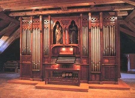 Alain Family Organ built by Albert Alain in the 1940s