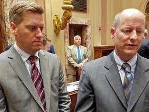 House Speaker Kurt Daudt and Senate Majority Leader Paul Gazelka