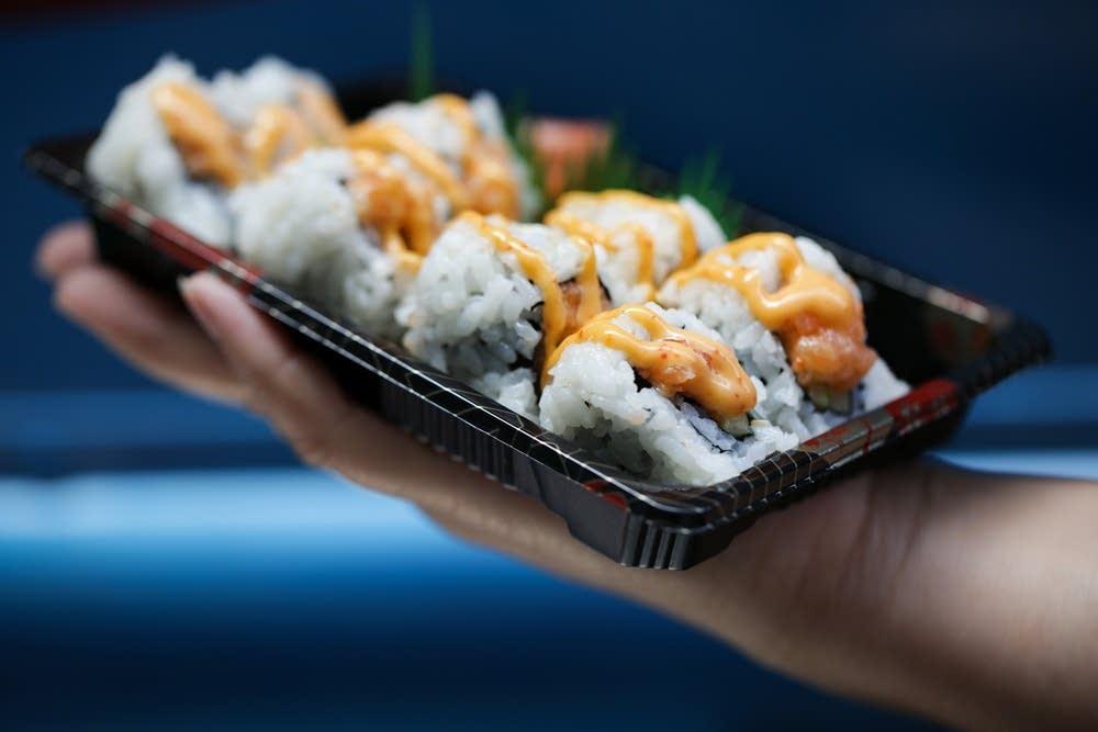 Sushi Daruma's salmon roll