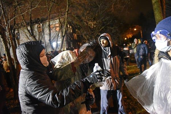 51 arrested as Black Lives Matters protestors shut