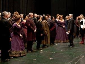 Metropolitan Opera Chorus Master Donald Palumbo