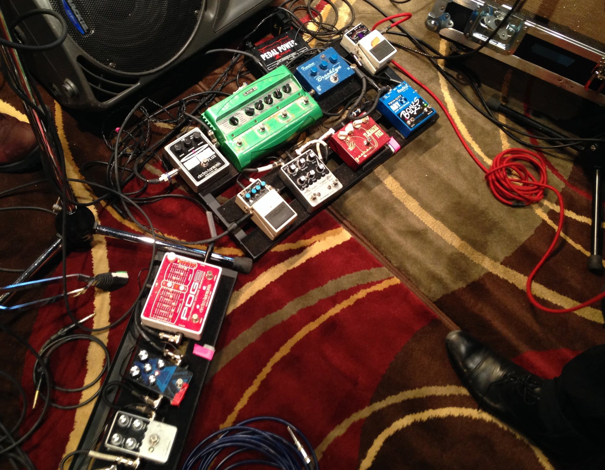 peter lalish lucius pov pedal boards