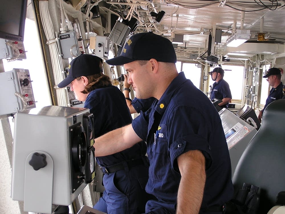 The Bridge, USCGC Alder