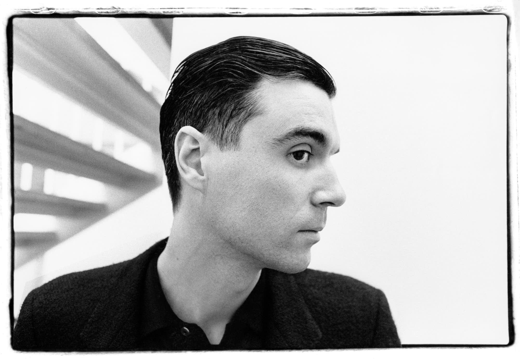 David Byrne at the Walker Art Center, 1984