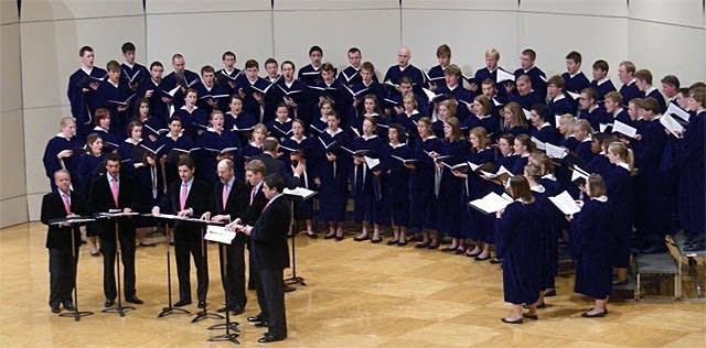 The Concordia Choir and the King's Singers