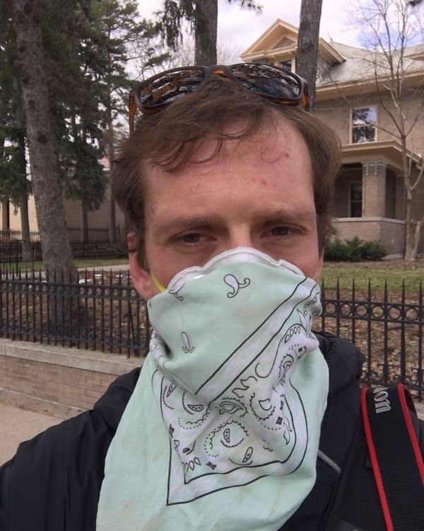 MPR News photojournalist Evan Frost