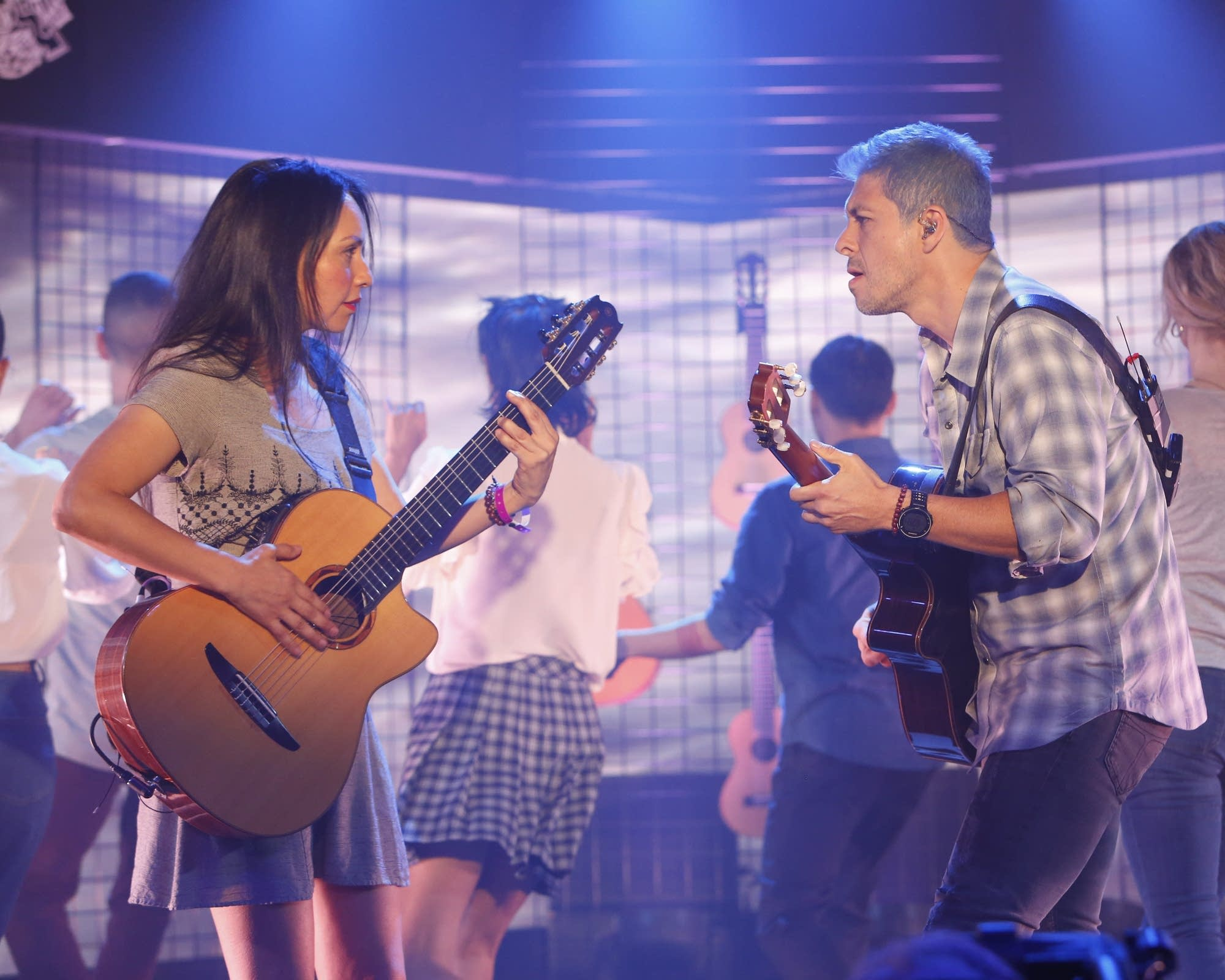 Rodrigo y Gabriela on 'Jimmy Kimmel Live!' on ABC