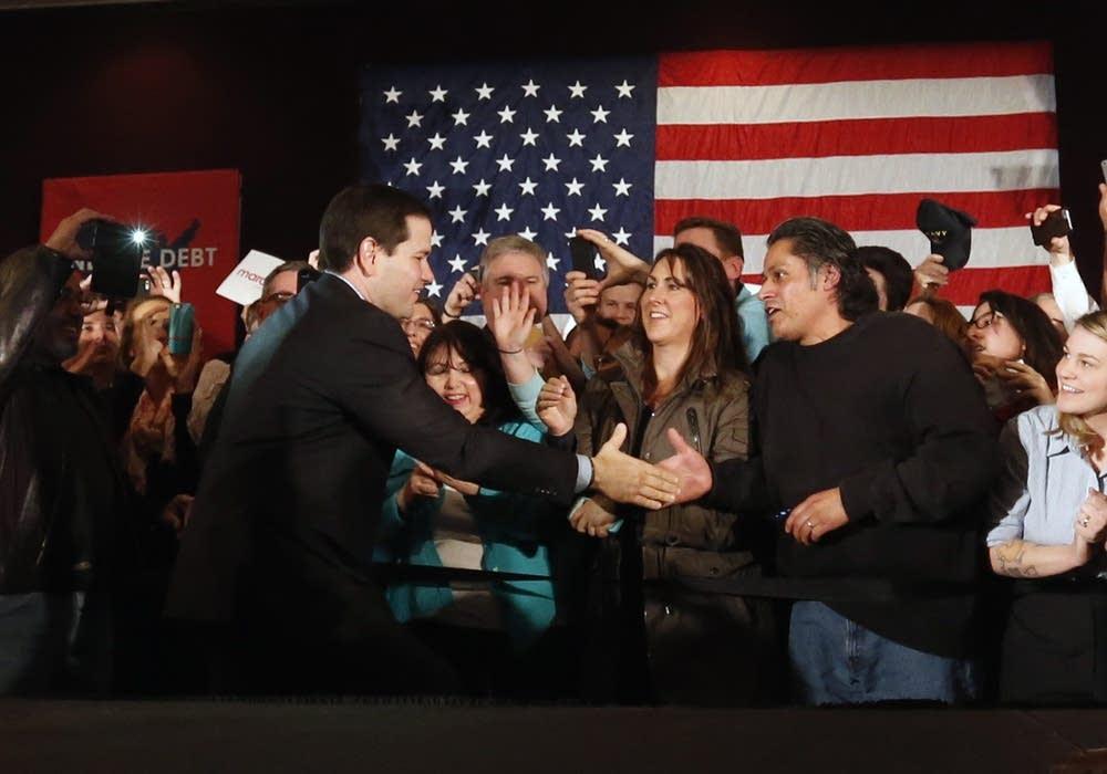 Marco Rubio in Andover