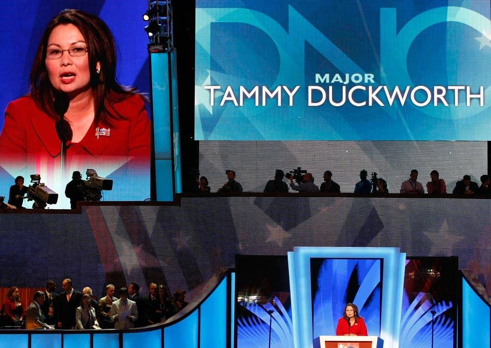 Iraq War veteran Tammy Duckworth