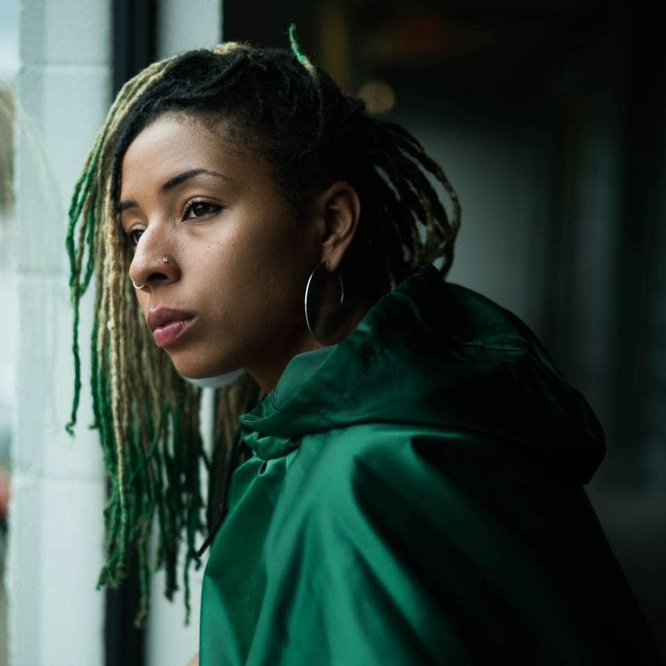 Destiny Roberts - Green Tape photo