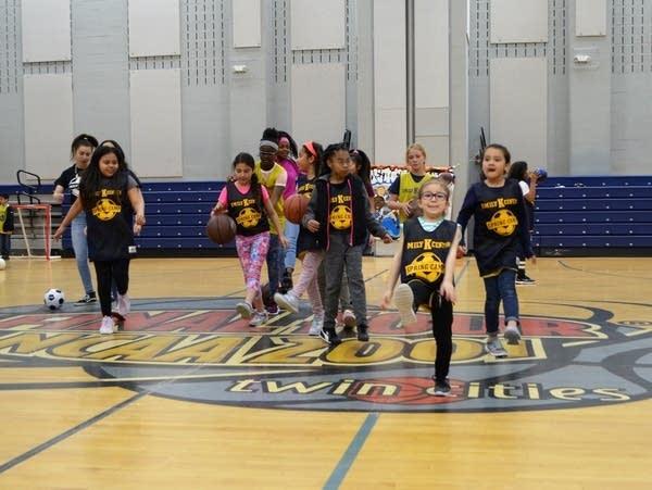Kids at the Emily K Center were dancing across the floor