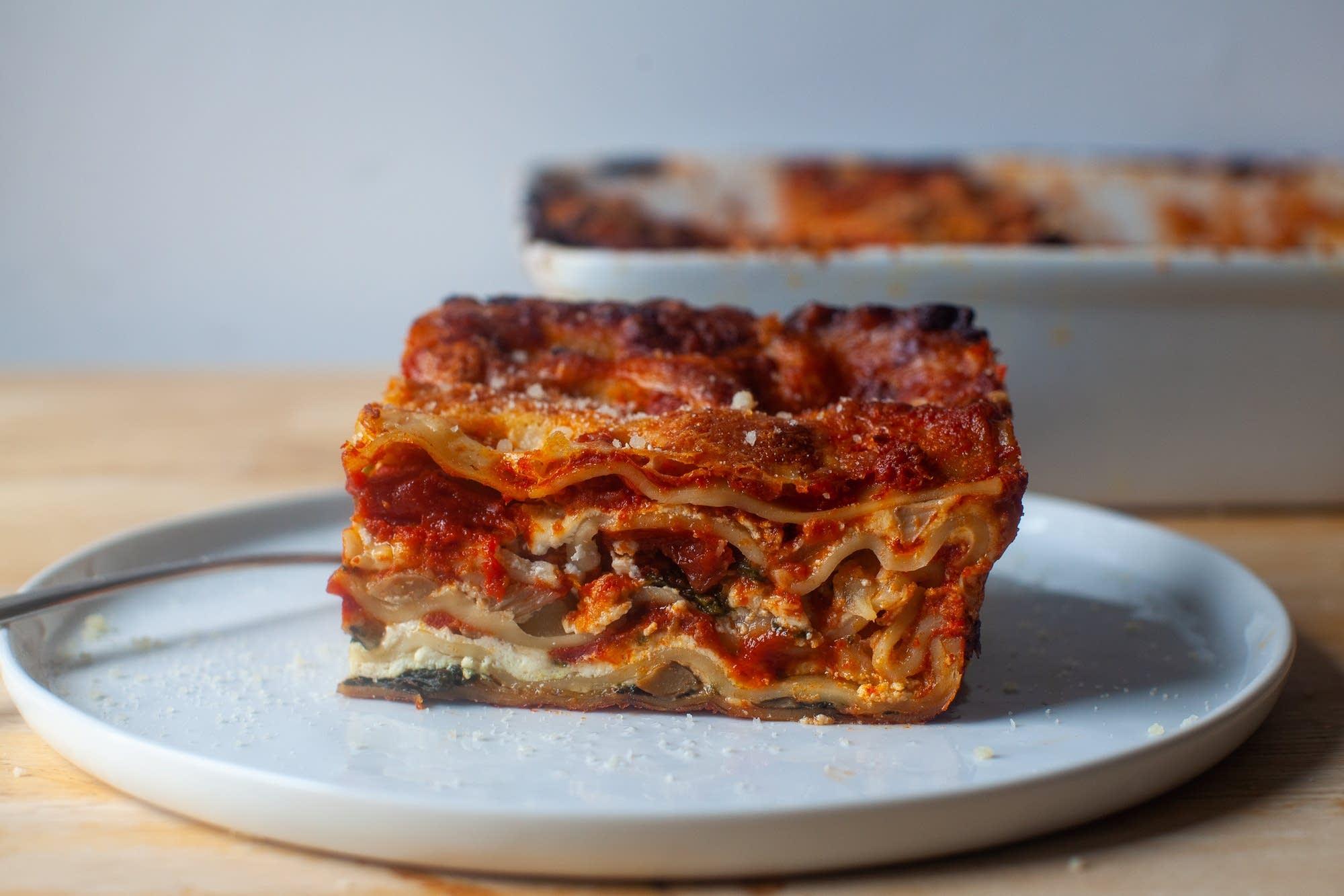 smitten veg lasagna