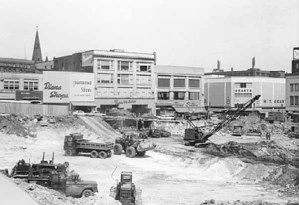 Dayton's under construction