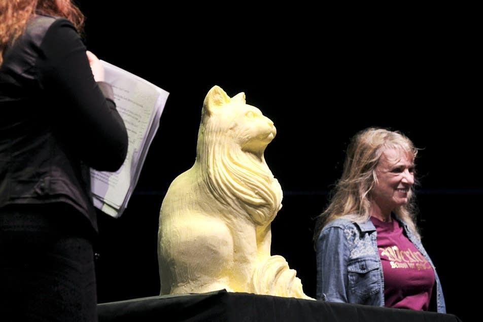 Butter artist Linda Christensen