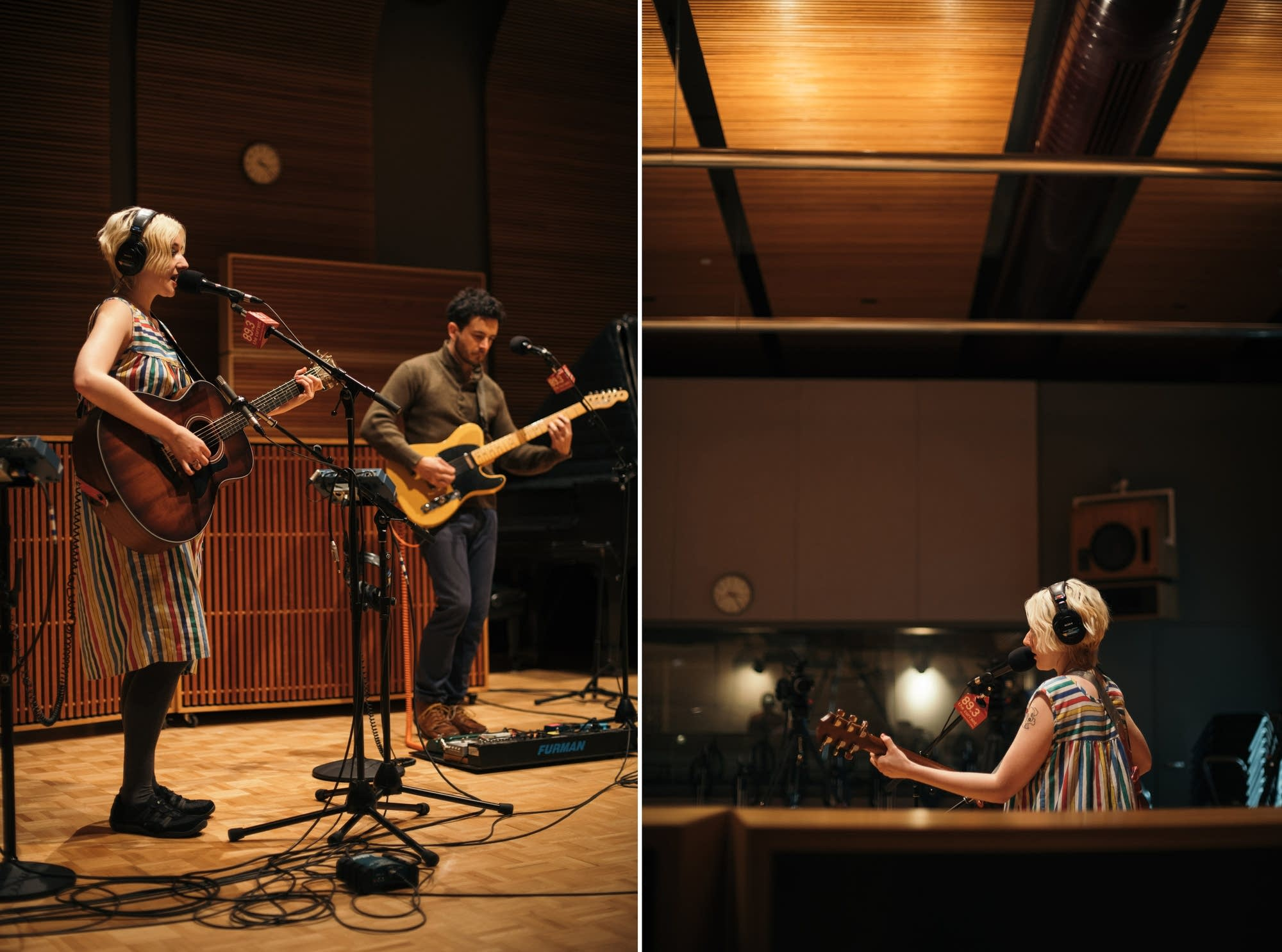 Jessica Lea Mayfield performs in The Current studio