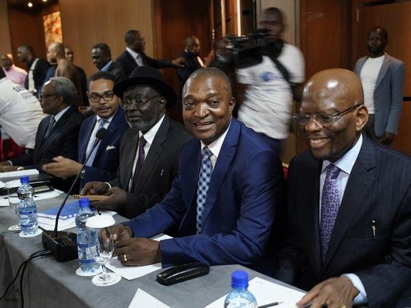 Congolese presidential candidate Emmanuel Ramazani Shadary