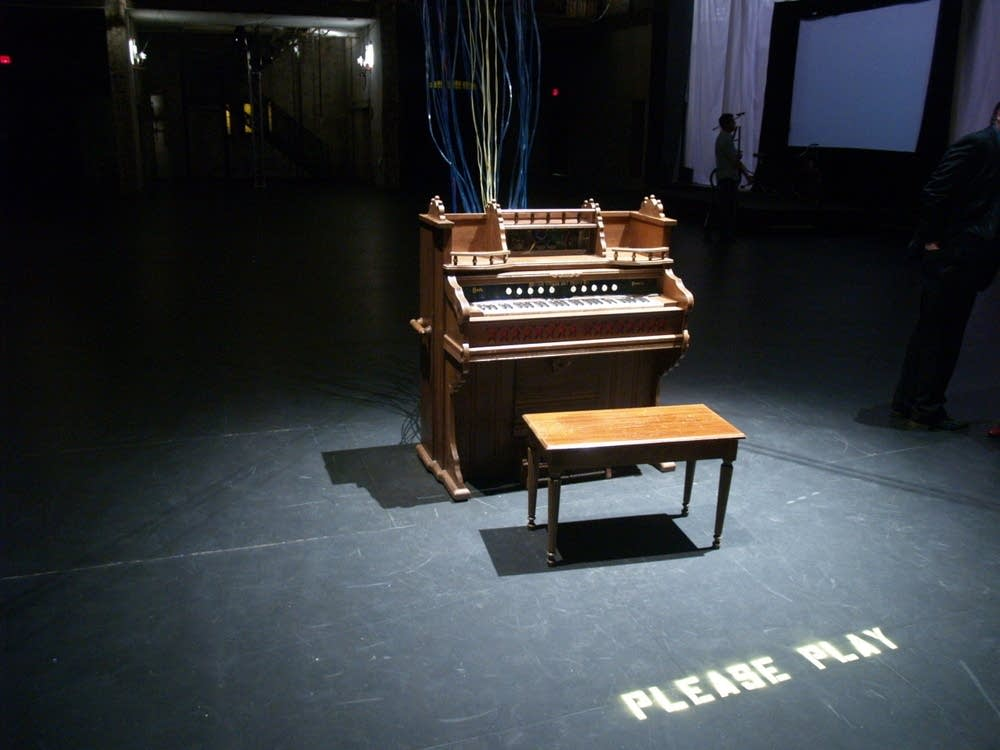 Modified pump organ