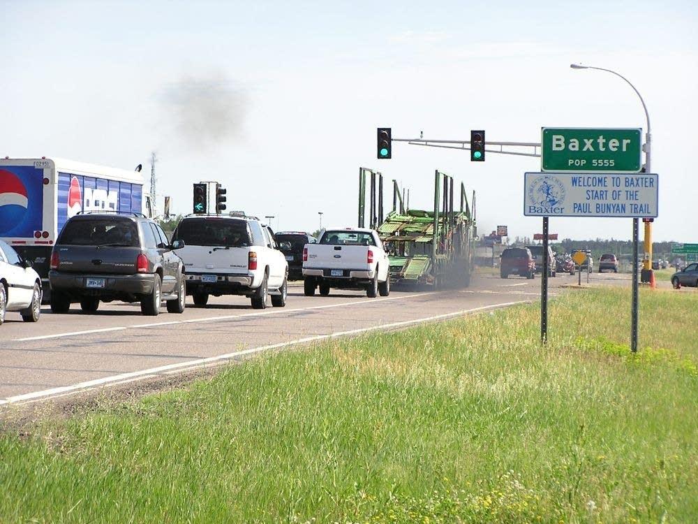 Baxter's highway 371