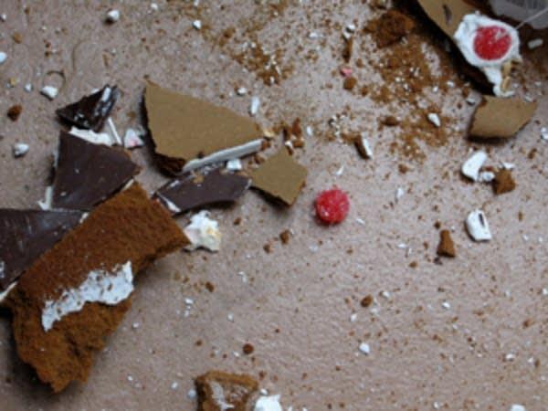 Dismantled dessert