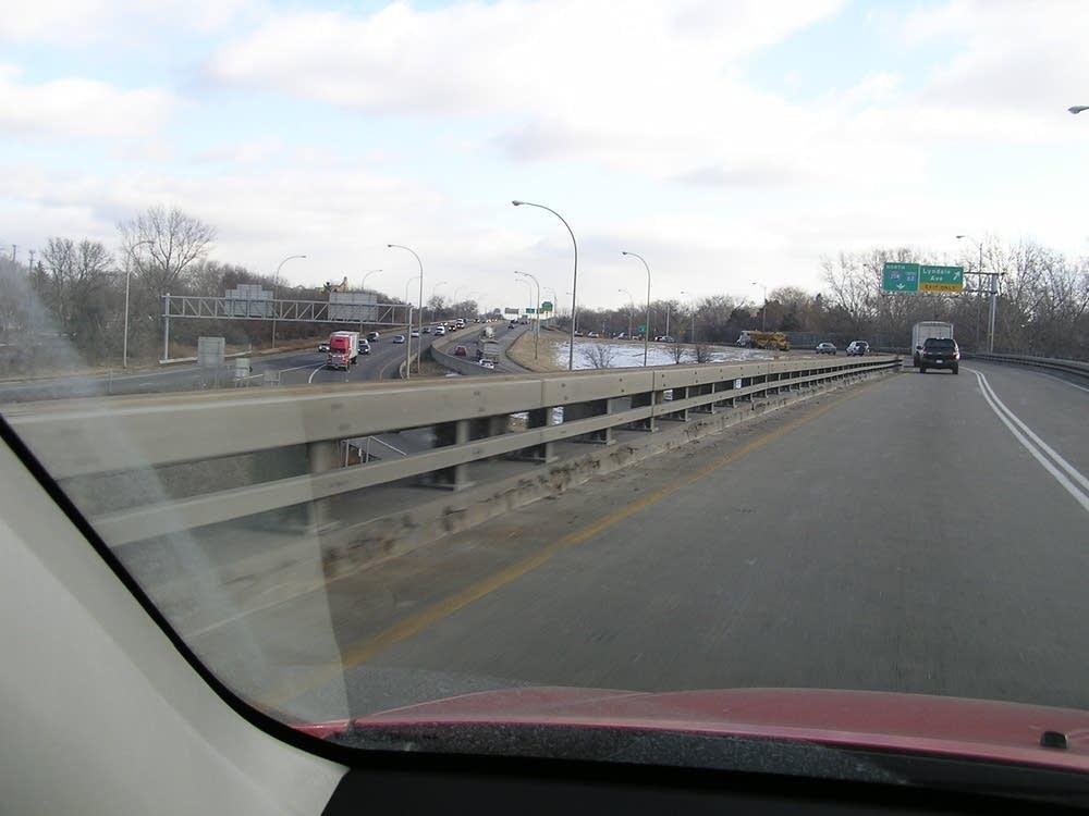 Crosstown interchange