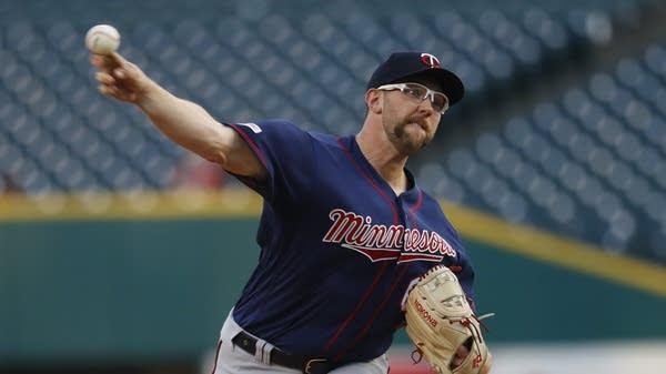 Minnesota Twins pitcher Randy Dobnak
