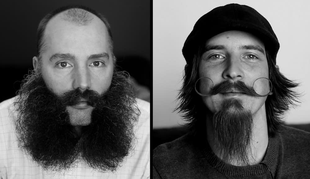 Beard-Off contestants
