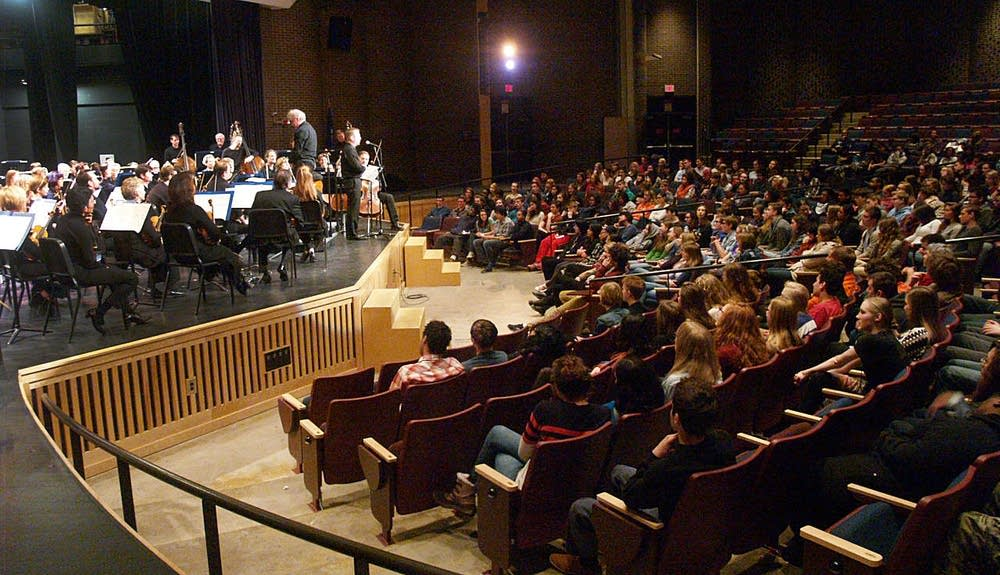 Minnesota Orchestra at South High in Minneapolis.