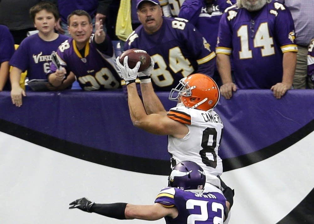 Jordan Cameron, Harrison Smith