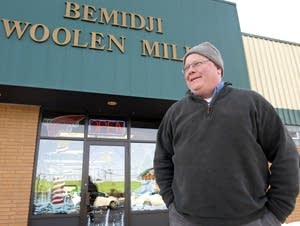 Bill Batchelder runs the Bemidji Woolen Mills company.