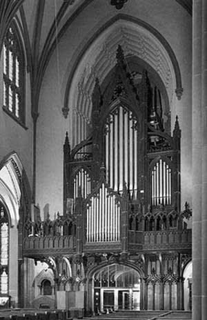 1968 Aeolian-Skinner organ at Trinity Church, New York, NY