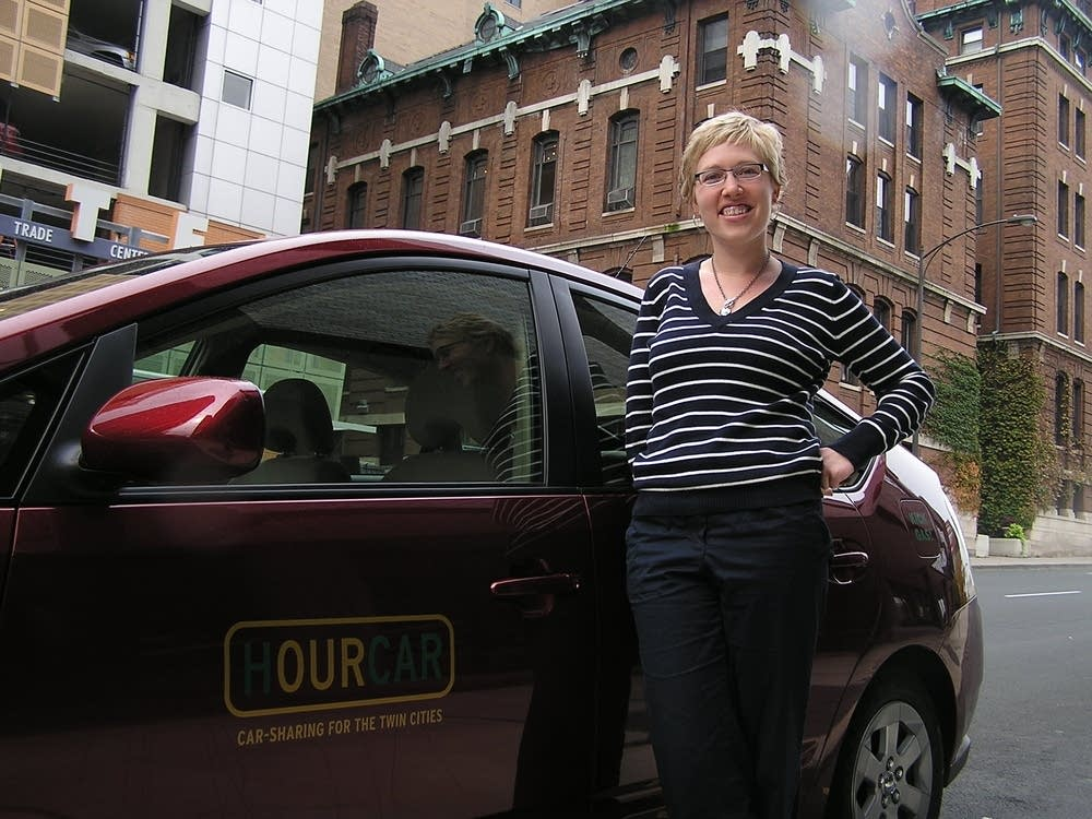 HourCar member Sarah Miller