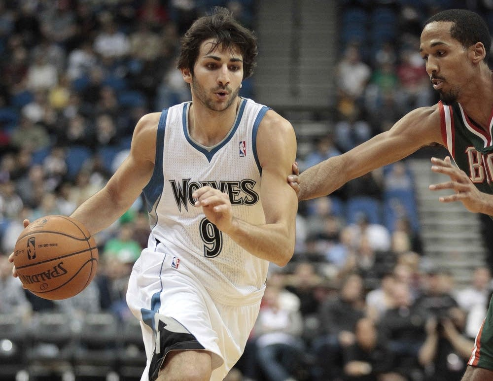 Ricky Rubio, Shaun Livingston