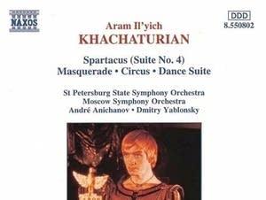 Khachaturian - Adagio of Spartacus and Phrygia