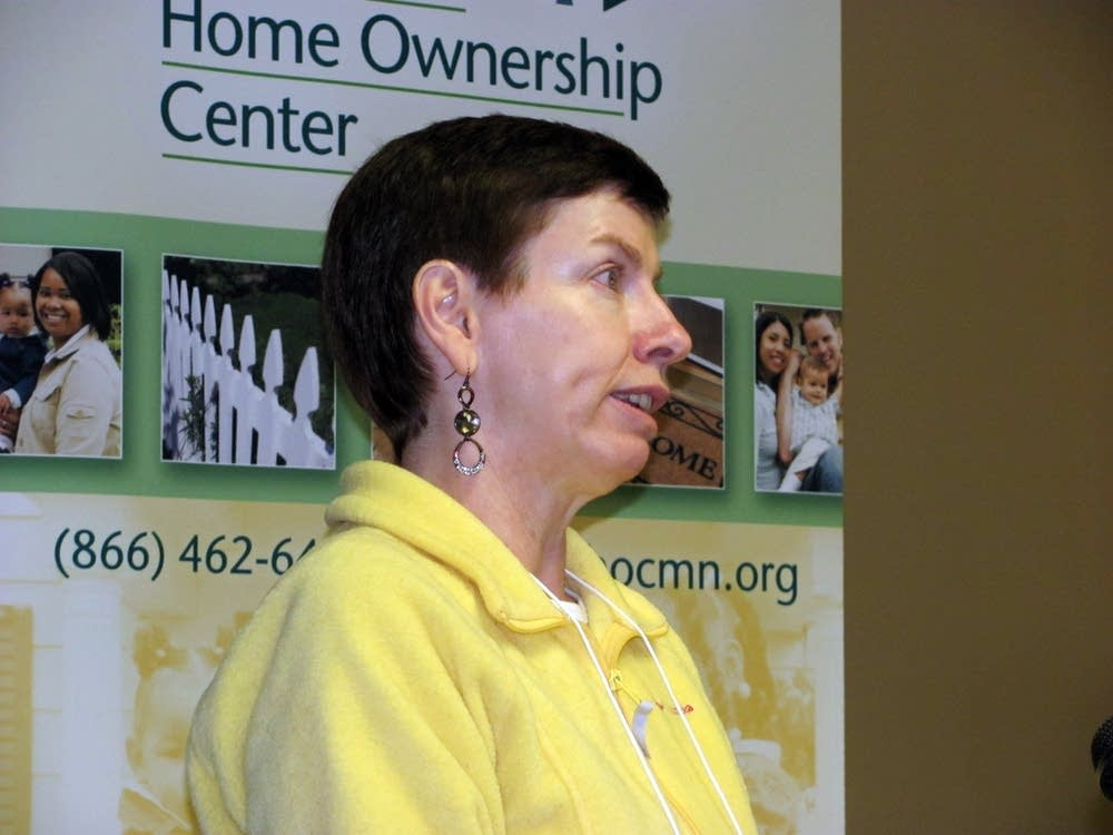 Shoreview homeowner Lisa Leuthold