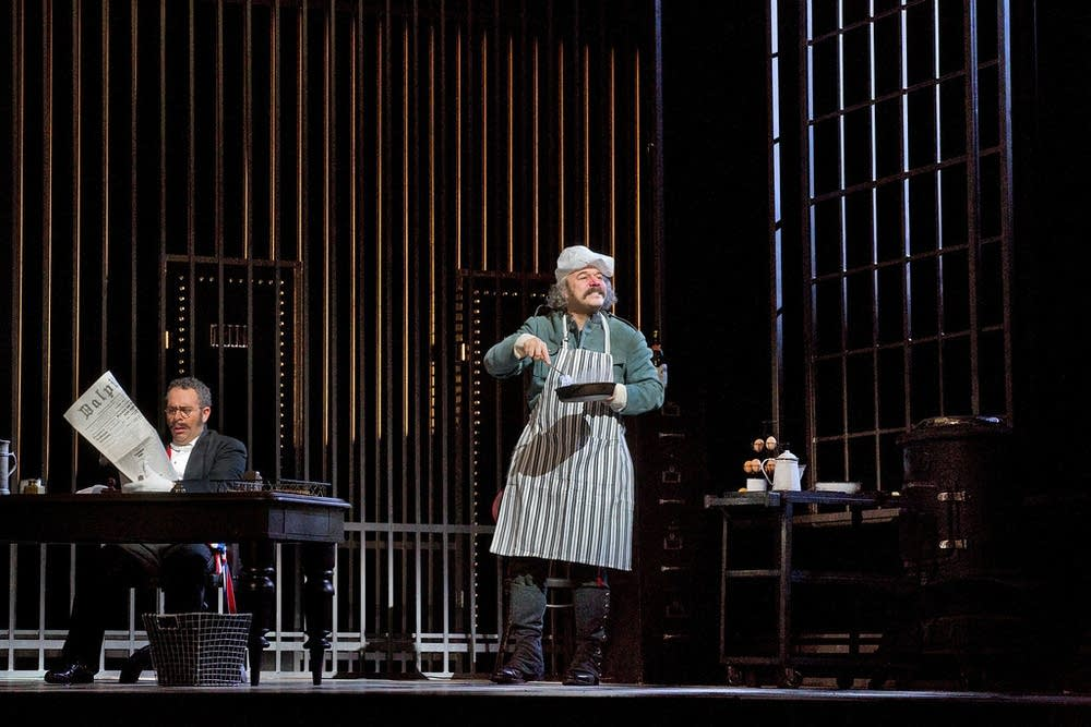 Danny Burstein as Frosch in Act 3