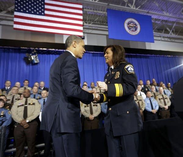 Barack Obama, Janee Harteau