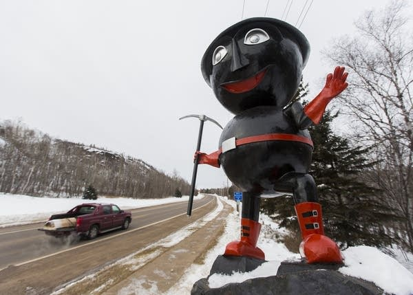 Rocky Taconite welcomes people to Silver Bay.