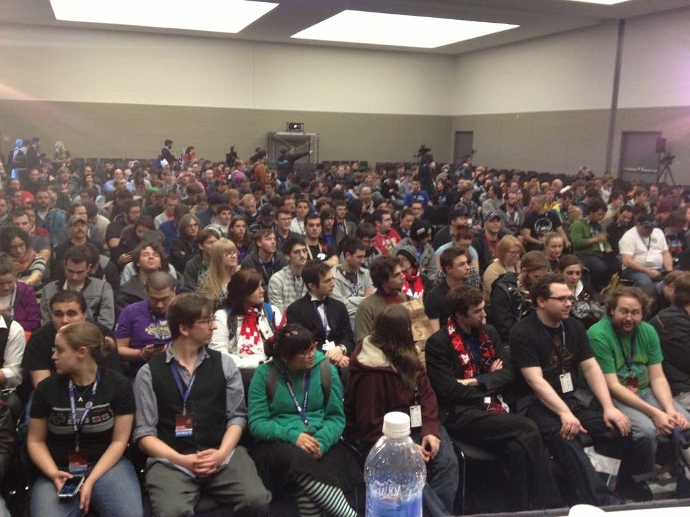 Crowd at Pax East 2013 panel
