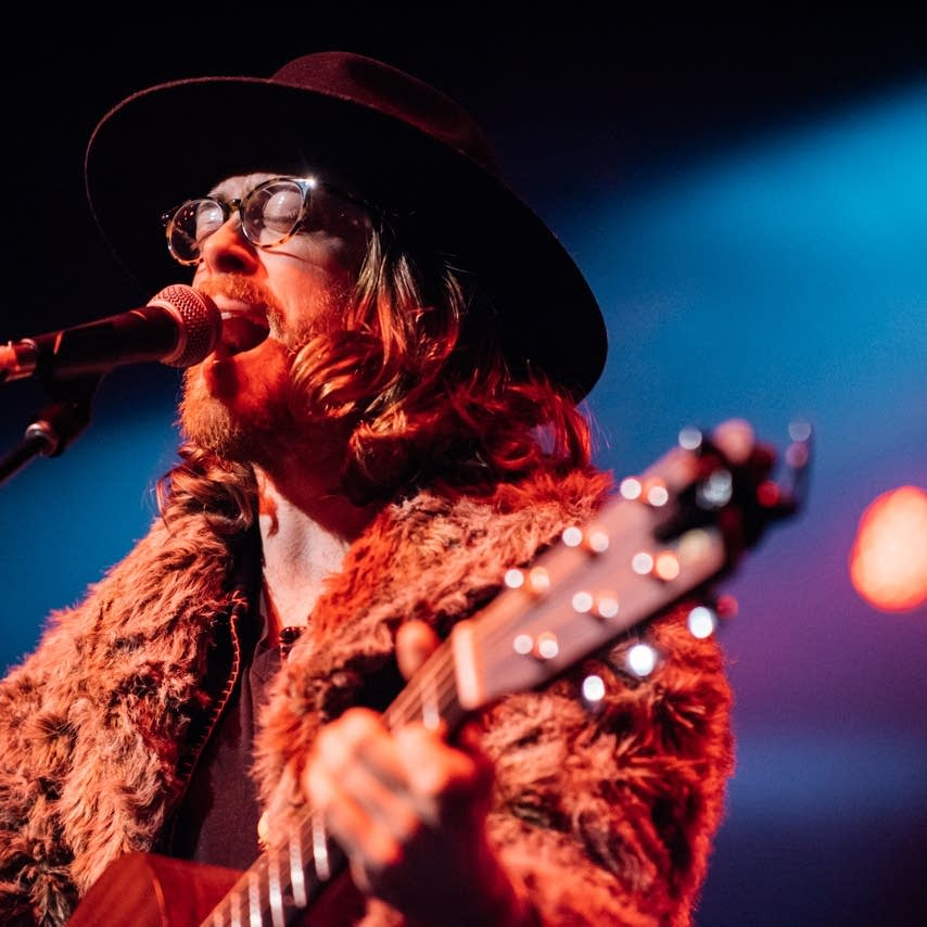 Jeremy Messersmith performs at The Current's 12th birthday