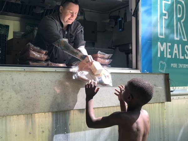St. Paul Public Schools has a food truck to get meals to students