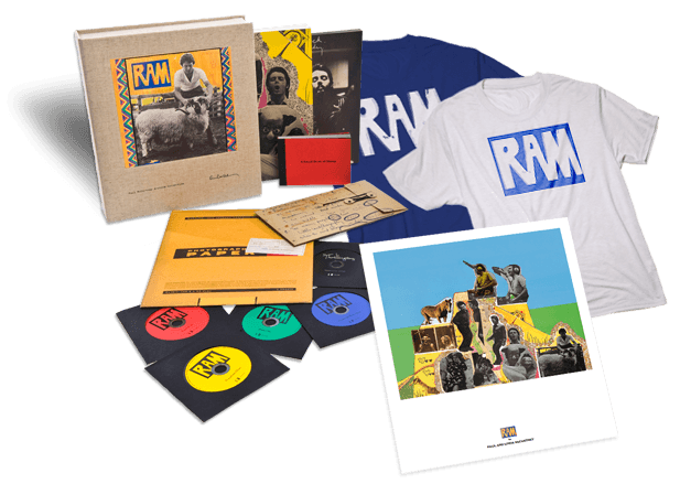 Paul McCartney RAM Deluxe set