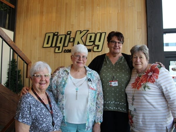 The four employees at Digi-Key say they are near or past retirement age.