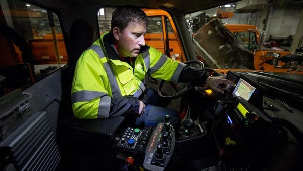 Mike Kiley, MN DOT roadway maintenance supervisor for District 3
